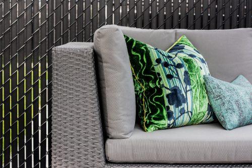 Coussins de divan extérieur
